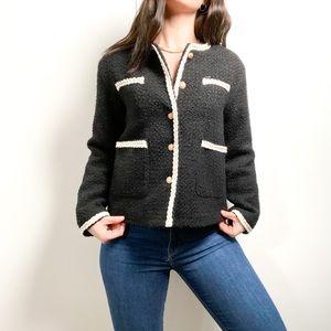 NWT Peacoat Wool Vintage Style Coat Jacket